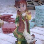 Ördekli Kız Maketi