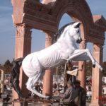 Şahlanan At Maketi