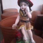 Şapkalı Kız Maketi