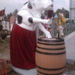 Şarapçı İnek Figürü