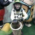 Şemsiyelik Maymun Figürü