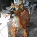 Şirin Kedi Heykeli