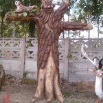 Ağaç Salıncak Heykeli