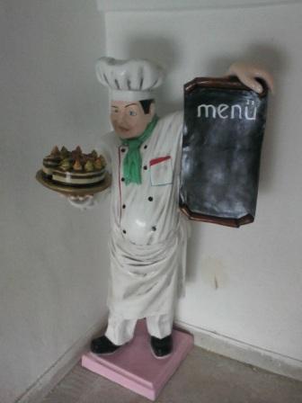 Aşçı Menü Figürü