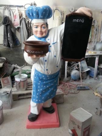 Aşçı Menü Maketi