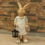Ada Sepetli Tavşan Maketi