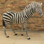 Afrika Zebrası Heykeli