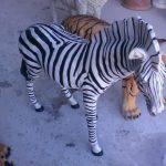 Afrika Zebrası Maketi
