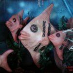 Akvaryum Balığı Heykeli
