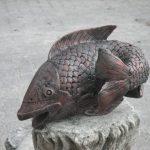 Art Balık Heykeli