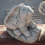 Art Mini Tavşan Heykeli