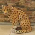 Asya Leoparı Figürü