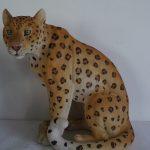 Asya Leoparı Heykeli