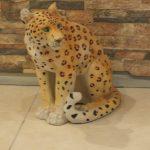 Asya Leoparı Maketi