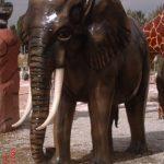 Büyük Afrika Fili Heykeli