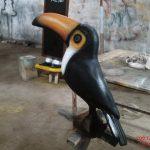 Büyük Gagalı Papağan Figürü