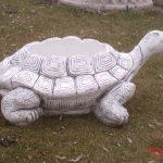 Büyük Kaplumbağa Çiçeklik Heykeli