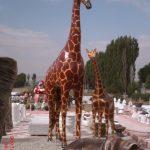 Büyük Zürafa Figürü