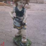 Bahçıvan Kız Heykeli