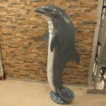 Biblo Yunus Balığı Heykeli
