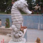 Deniz Atı Heykeli