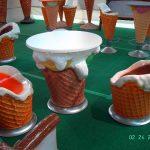 Dondurma Külahı Masa Takımı