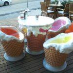 Dondurma Masa Takımı
