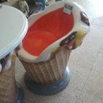 Dondurma Sandalye Figürü