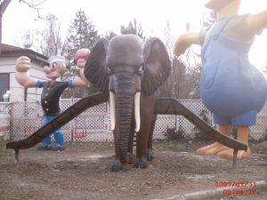 Fil Figürlü Oyun Grubu Maketi