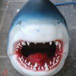 Köpek Balığı Kafası Maketi