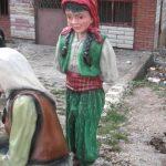 Köylü Kız Çocuk Heykeli