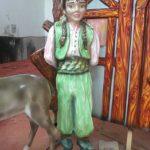 Köylü Kız Maketi