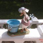 Küçük Çiçekli Ördek Maketi