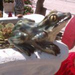 Küçük Kurbağa Heykeli