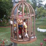 Kafeste Pinokyo Maketi
