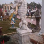 Kaideli Deniz Atı Heykeli
