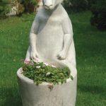 Kanguru Çiçeklik Heykeli