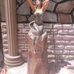 Kayada Deniz Kızı Maketi