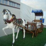 Koşumlu Kır At Maketi