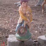 Kuzulu Kız Maketi