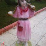 Laz Kızı Çocuk Heykeli