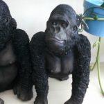 Malezya Orangutanı Figürü