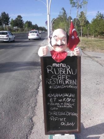 Menü Pano Figürü