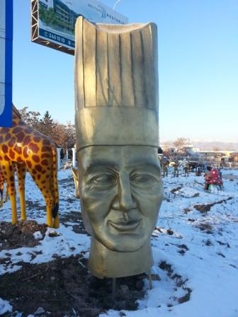 Mengenli Aşçı Başı Figürü