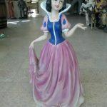 Mini Pamuk Prenses Heykeli