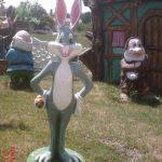 Neşeli Tavşan Maketi