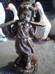 Oduncu Kız Maketi