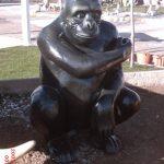 Orangutan Heykeli