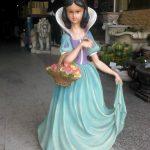 Orta Pamuk Prenses Heykeli