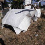 Otlayan Tiftik Keçisi Figürü